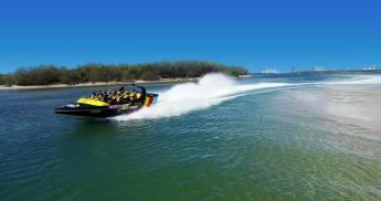 Premium Broadwater Adventure Jet Bootsfahrt
