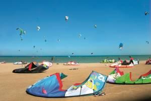 Kitesurfvakantie voor beginners in El Gouna Egypte - 8 dagen