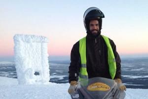 Sneeuwscootersafari naar de top van Ylläs