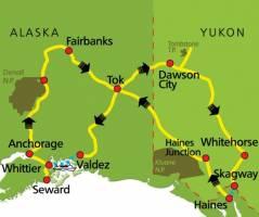 Het beste van Alaska & Yukon (16 dagen)