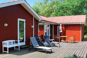 Schilderachtig vakantiehuis in Hadsund met uitzicht op zee
