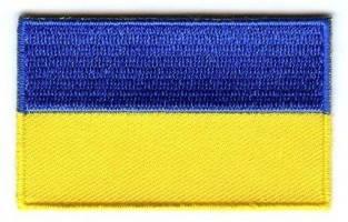 Vlag patch Oekraïne