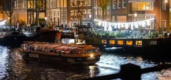 Amsterdam Light Festival 2021 - 2022 Semi-Open Boat Cruise