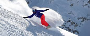 Off piste Gevorderd Snowboard Val d'Isere
