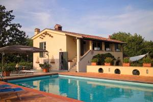 Vakantiehuis in Montecalvoli met zwembad, in Toscane.