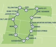 Rocky Mountain Frontiers (16 dagen)