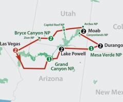Canyon Explorer (14 dagen)