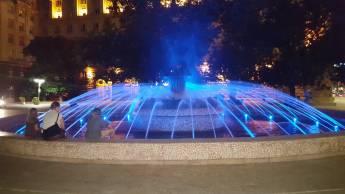 Private Nachttour durch Sofia mit bulgarischer Folklore-Show und