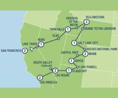 National Parks Explorer (17 dagen)