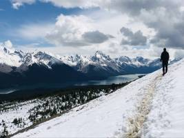 Wintersporten in West-Canada