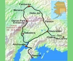 Langs de lodges van Alaska (14 dagen)