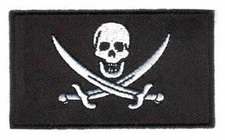 Vlag patch Piraat