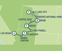 National Park Treasures (8 dagen)