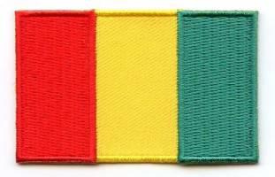 Vlag patch Guinea