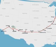 Route 66 (17 dagen)