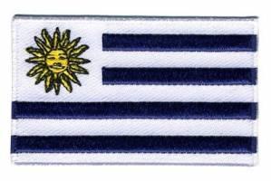 Vlag patch Uruguay