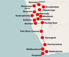 Zuid-Afrika & Namibië per camper (24 dagen)