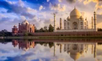 Denkwürdige Fahrt nach Agra - die Stadt der Mogulschätze