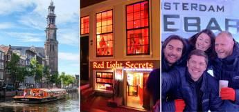Red Light Secrets + Amsterdam Icebar + 1 h. Amsterdam Canal Crui