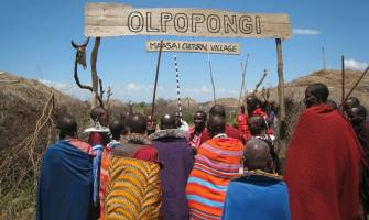 Besuch des Dorfes Olpopongi Maasai am Kilimandscharo