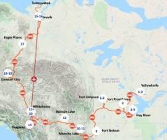 Het hoge Noorden van Canada (22 dagen)