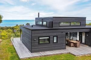 Luxe vakantiehuis in Asnæs met een sauna