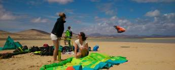 Kitesurfvakantie voor gevorderden in Fuerteventura - 8 dagen