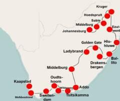 Zuid-Afrika per camper (25 dagen) - Noordwaarts