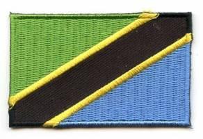 Vlag patch Tanzania