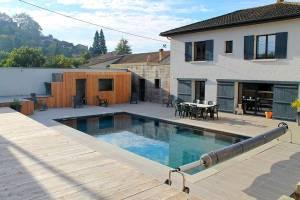 Vakantiehuis in Couze-et-Saint-Front met zwembad, in Dordogne-Li