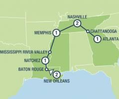 Rhythms of the South (9 dagen)