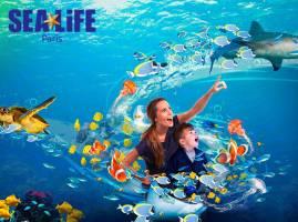 Entreeticket voor SEA LIFE Parijs
