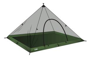 SuperLight - XL - Pyramid Mesh Tent