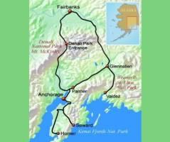 De hoogtepunten van Alaska (16 dagen)