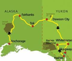 Spectaculair Alaska en Yukon (17 dagen)