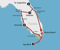 Panoramic Florida (12 dagen)