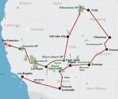 American National Parks (21 dagen)