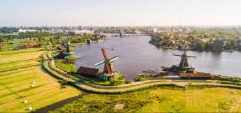 Countryside and windmills tour from Amsterdam