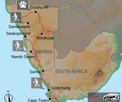 Het beste van de Kaap & Namibië (16 dagen)