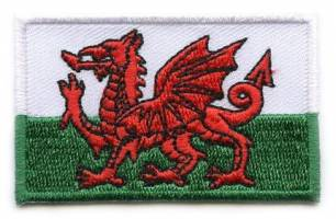 Vlag patch Wales