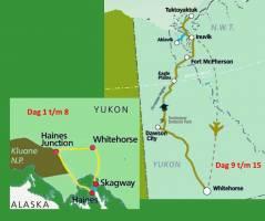 Ongerepte natuur van Yukon & Northwest Territories (16 dagen)