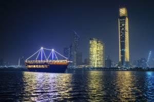 Dhow Dinner Cruise von Abu Dhabi