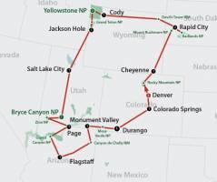 Wondrous National Parks (18 dagen)
