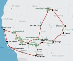 American National Parks (23 dagen)