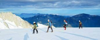 Alpinisme vakantie voor beginners Argentière - De gletsjers van