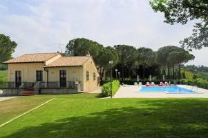 Vakantiehuis in Pianello met zwembad, in Umbrië.